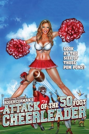 Poster of Attack of the 50 Foot Cheerleader