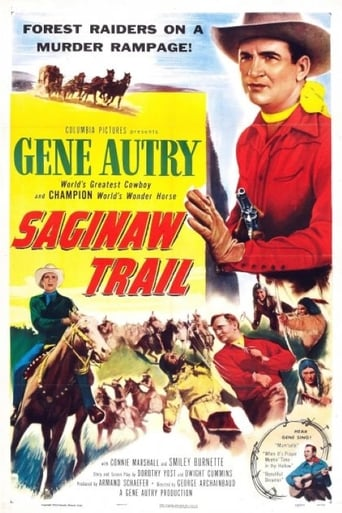 Poster of Saginaw Trail