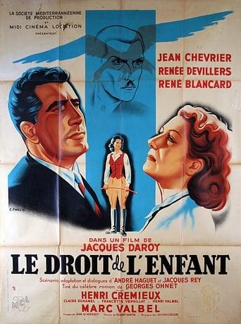 Poster of Le droit de l'enfant