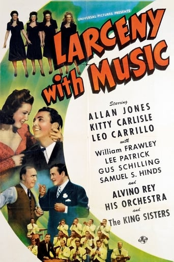 Poster of Larceny with Music