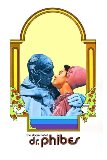 Poster of El abominable Dr Phibes