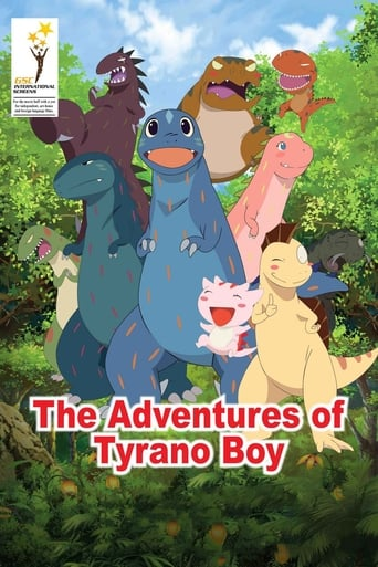 Poster of The Adventures of Tyrano Boy