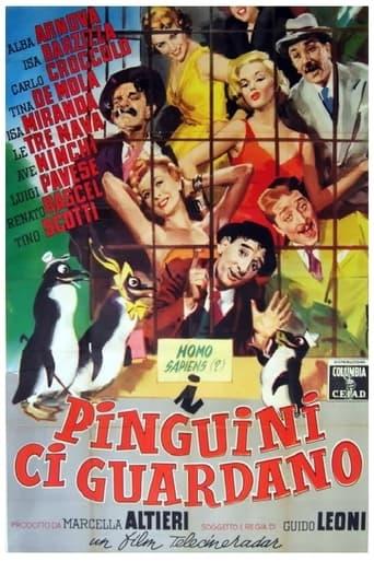 Poster of I pinguini ci guardano