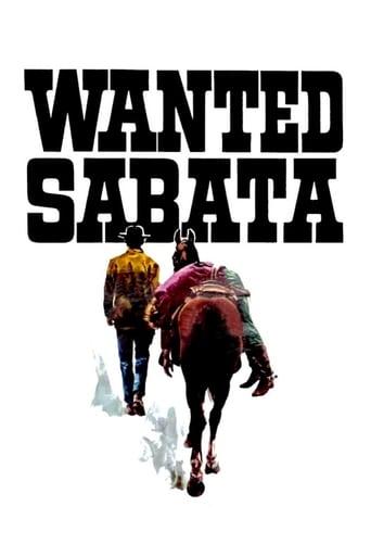 Poster of Wanted Sabata