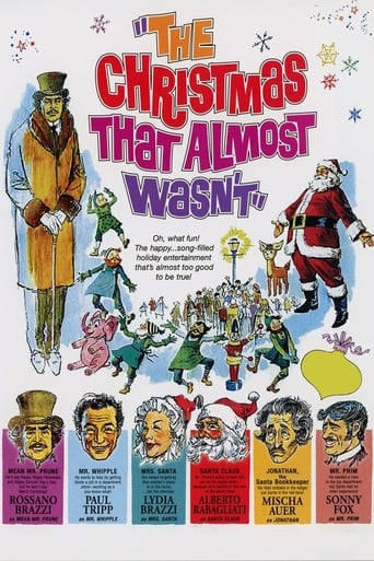 Poster of The Christmas That Almost Wasn't
