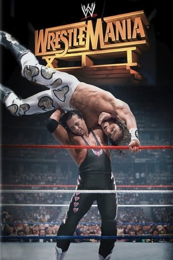 Poster of WWE WrestleMania XII