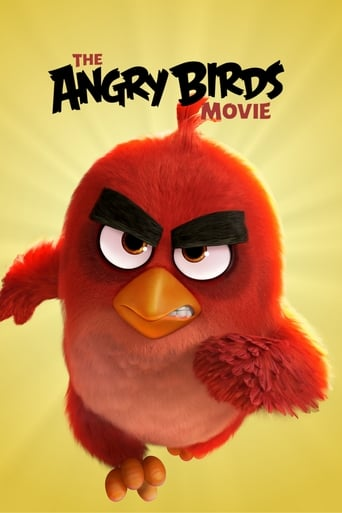 Poster of The Angry Birds Movie