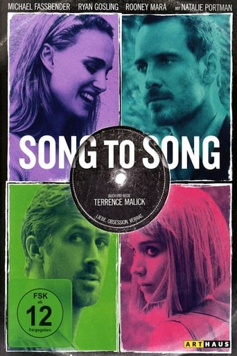 Filmplakat von Song to Song