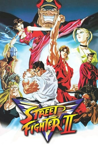 Poster of Street Fighter II V