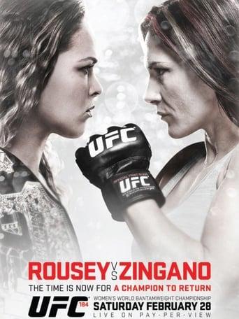 Poster of UFC 184: Rousey vs. Zingano
