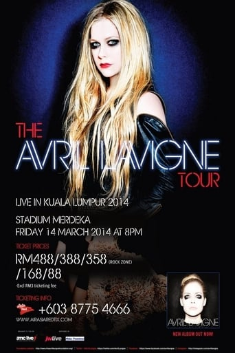 Poster of The Avril Lavigne Tour in Brasil