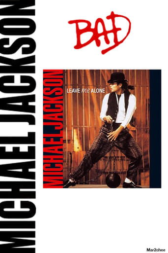 Poster of Michael Jackson - Leave Me Alone