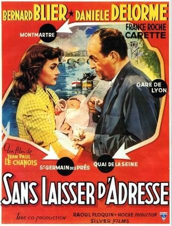 Poster of Sans laisser d'adresse
