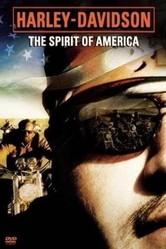 Poster of Harley-Davidson: The Spirit of America