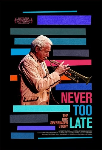 Poster of Never Too Late: The Doc Severinsen Story