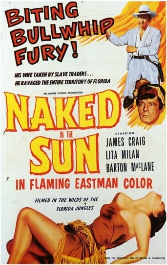 Poster of Naked In The Sun
