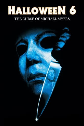 Poster of Halloween: The Curse of Michael Myers