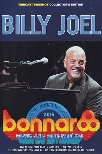 Poster of Billy Joel - Live at Bonnaroo 2015