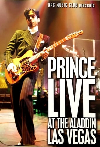 Poster of Prince: Live at the Aladdin Las Vegas