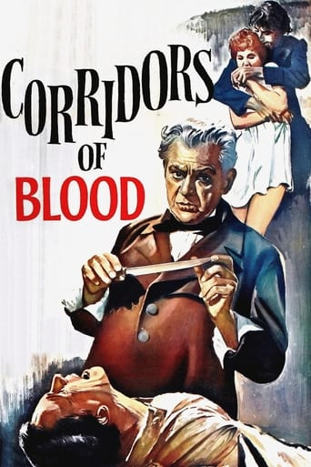Poster of Corridors of Blood