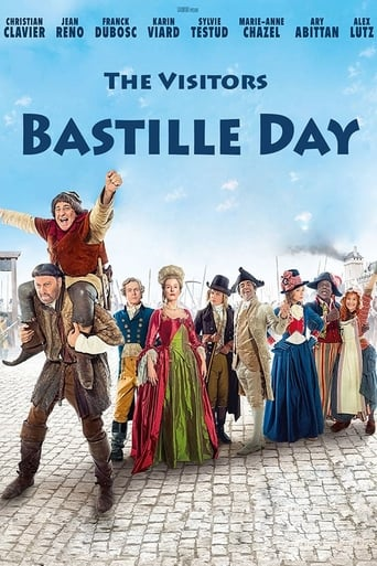 Poster of The Visitors: Bastille Day
