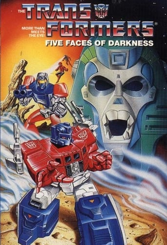 Poster of Transformers: Five Faces of Darkness