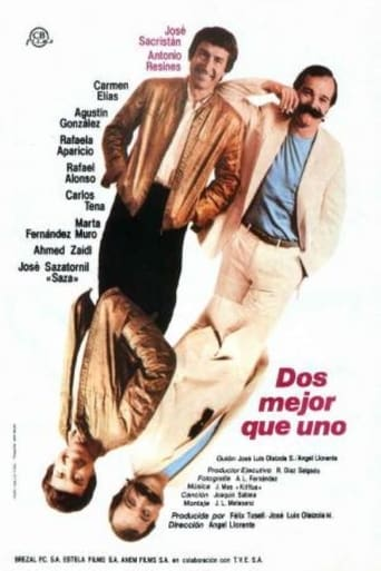 Poster of Dos mejor que uno