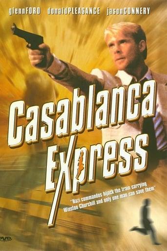 Poster of Casablanca Express