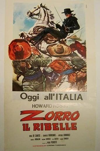 Poster of Zorro il ribelle