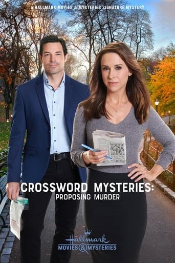 Poster of Crossword Mysteries: Proposing Murder