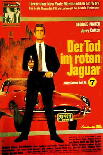 Jerry Cotton: Death in the Red Jaguar