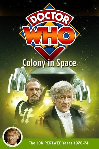 Poster of Doctor Who: Colony in Space
