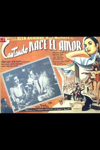 Poster of Cantando nace el amor