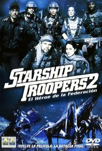 Poster of Starship Troopers 2: El héroe de la federación