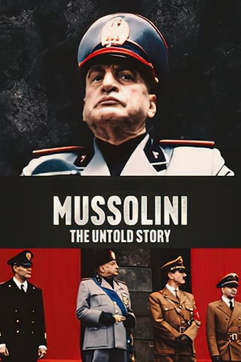 Poster of Mussolini: The Untold Story