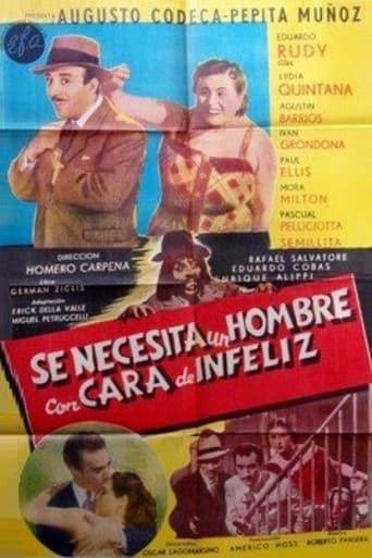 Poster of Se necesita un hombre con cara de infeliz