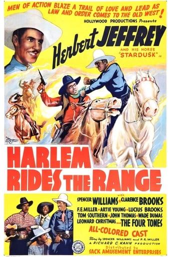 Poster of Harlem Rides the Range