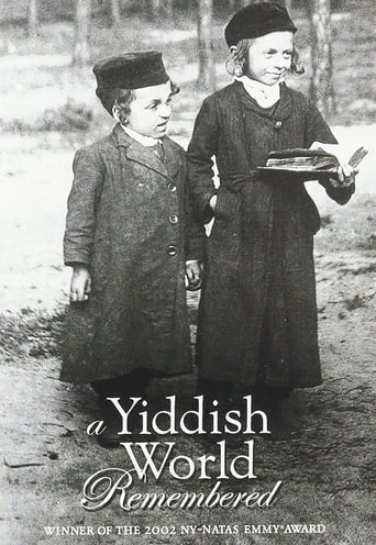 A Yiddish World Remembered poster