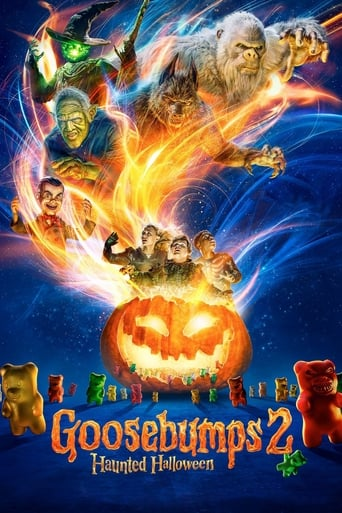 Poster of Goosebumps 2: Haunted Halloween