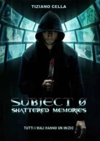 Poster of Subject 0: Shattered memories