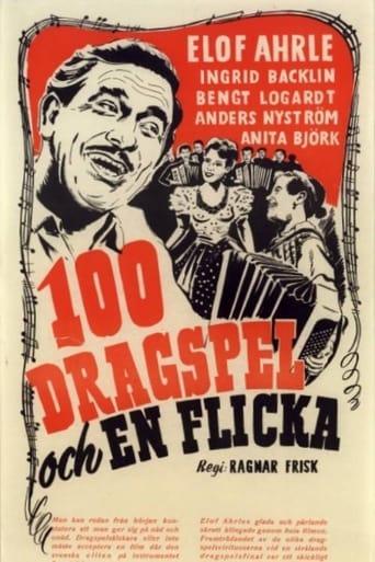 Poster of 100 dragspel och en flicka