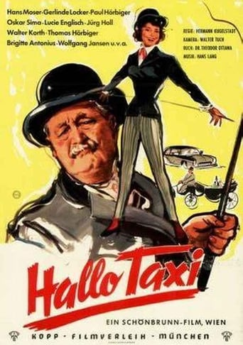 Poster of Hallo Taxi