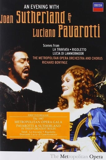 Poster of An Evening with Joan Sutherland and Luciano Pavarotti