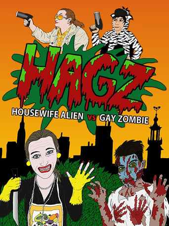 Poster of Housewife Alien vs. Gay Zombie