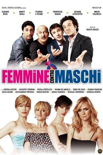 Poster of Femmine contro maschi