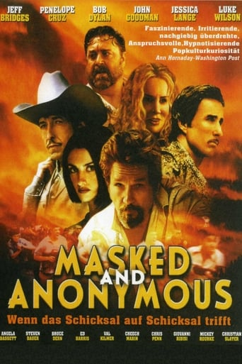 Poster of Masked and Anonymous