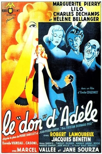 Poster of Le don d'Adèle