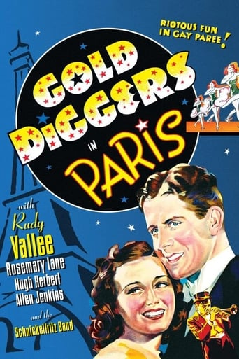Poster of Gold Diggers in Paris