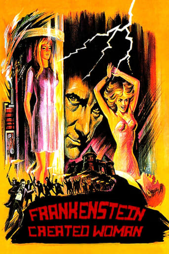 Poster of Frankenstein Created Woman