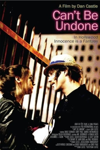 Poster of Can't Be Undone